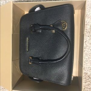 Michael Kors Black Satchel Purse, NWT in box